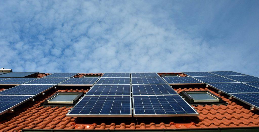 solar auf dem dach